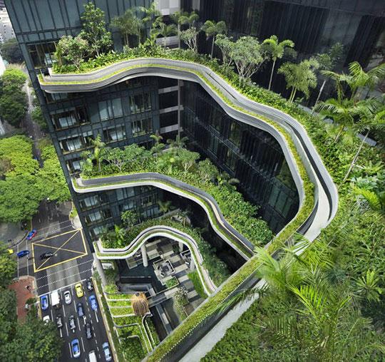 vergroening van (nieuwe) gebouwen als onderdeel van ontwikkelingsstrategie