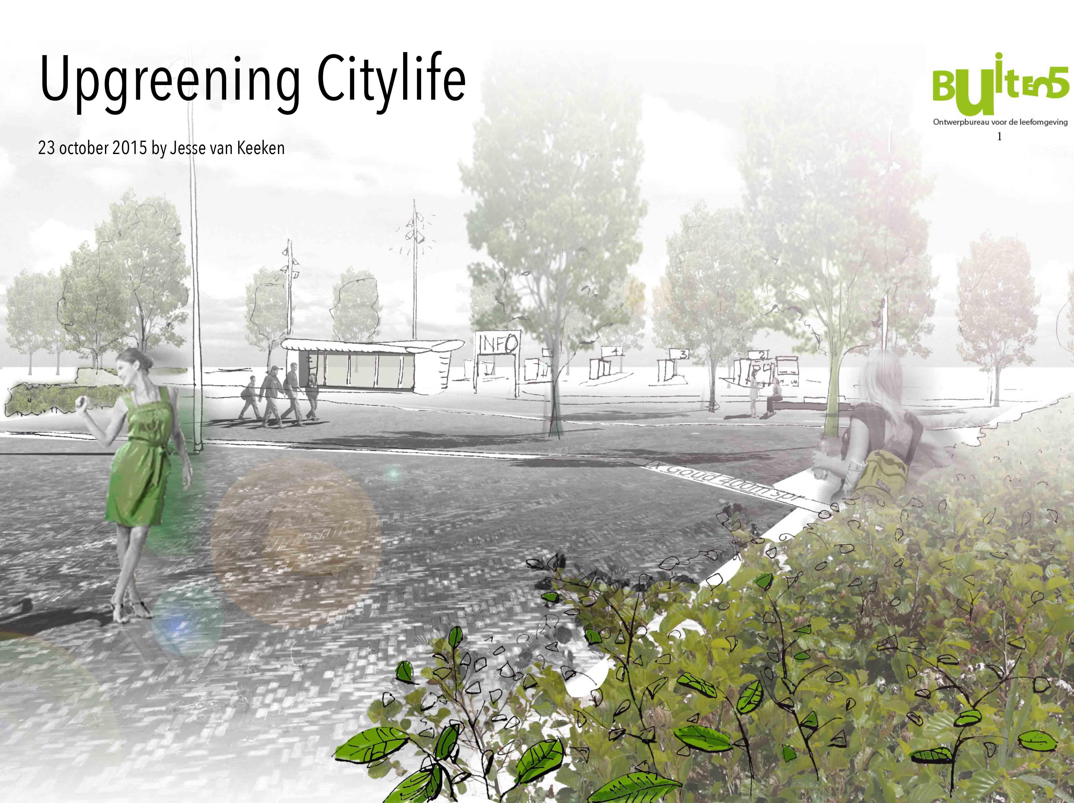 Upgreening city life