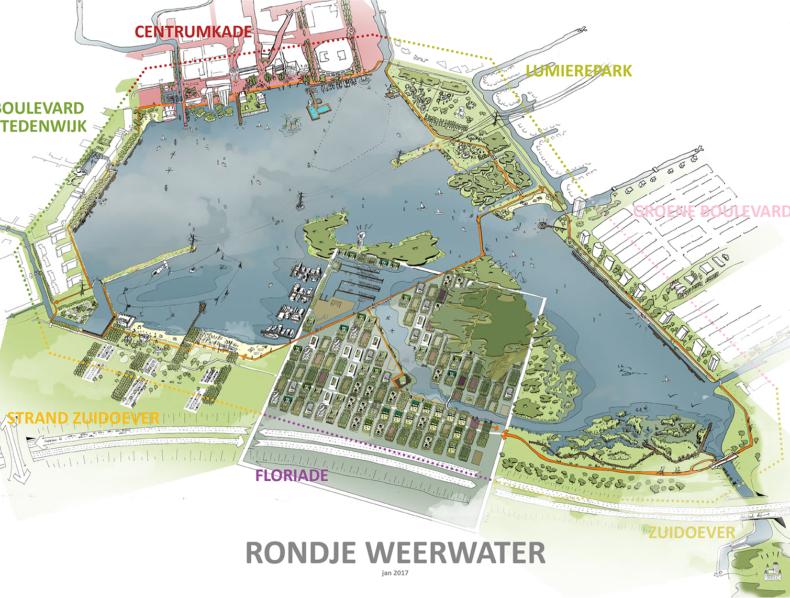 Buiten5 werkt mee aan realisatie Rondje Weerwater
