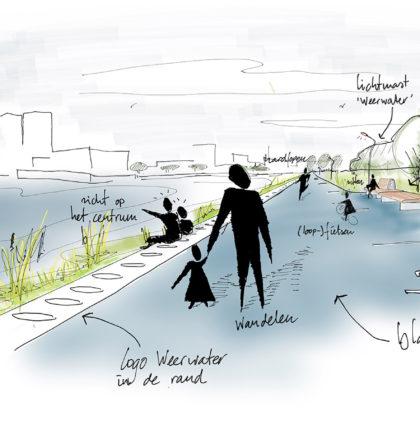 Realisatie Rondje Weerwater vordert